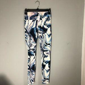 Fabletics full length XS mulitcolor leggings